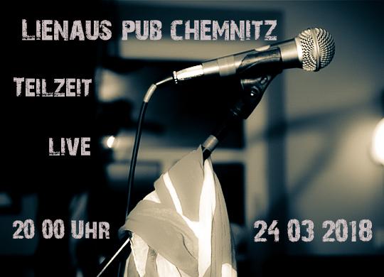 24.03.2018 – Lienau´s Pub Chemnitz