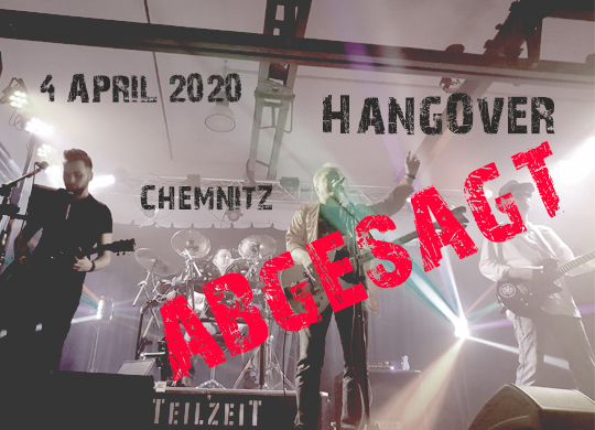 4. April 2020 – Live im HangOver